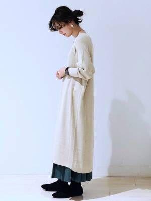 3[AMERICAN HOLIC] ロングプリーツスカート