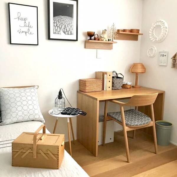 簡単に付けられておしゃれ♪【無印良品】の壁に付けられる家具の収納から飾り棚まで