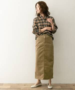 [URBAN RESEARCH ROSSO WOMEN] F by ROSSOSOMETHING別注ストレッチロングスカート