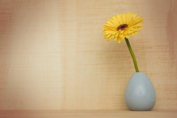 黄色いお花 インテリア風水
