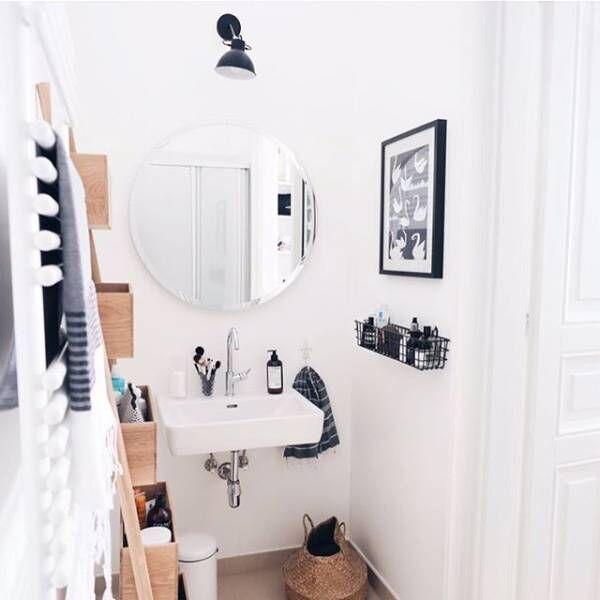 毎日の洗顔も素敵な空間で♡洗面所のおしゃれなデコレーションまとめ