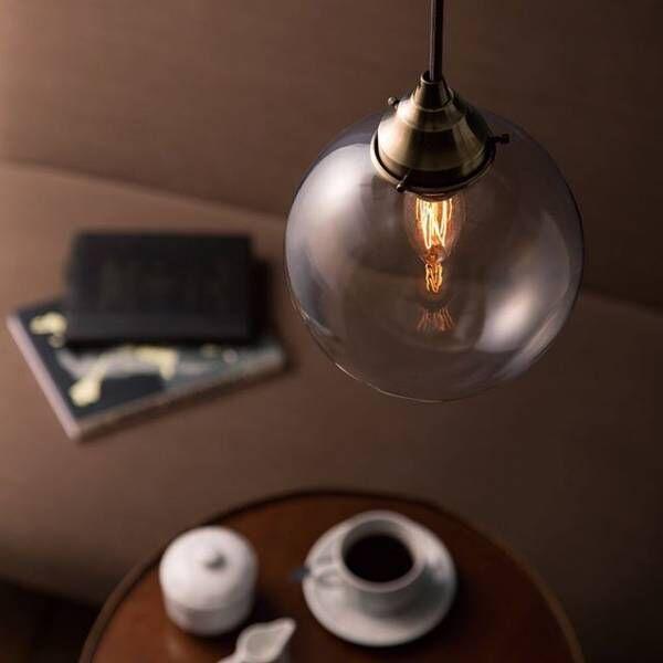 電球型のペンダントライト