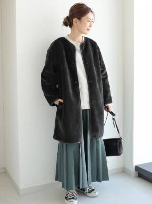 [AMERICAN HOLIC] ロングプリーツスカート