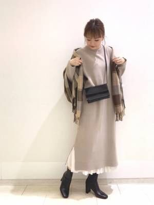 [LOWRYS FARM] ハナプリーツスカート856557