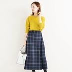 《チェック柄スカート》で叶う♡大人女性の秋冬ファッション15選
