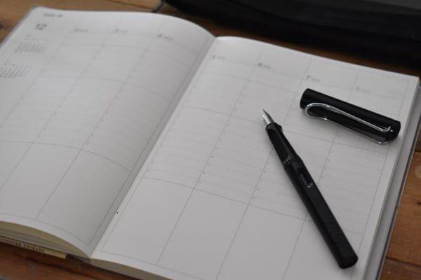 2020年の手帳&カレンダー