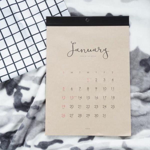 【セリアetc.】人気商品は売り切れ必至!来年の手帳&カレンダーの準備はOK?