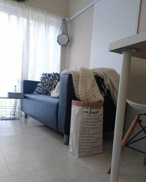 IKEAのソファ
