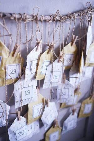 【連載】《ダイソー》アイテムで!簡単北欧風アドベントカレンダーを作ろう♪