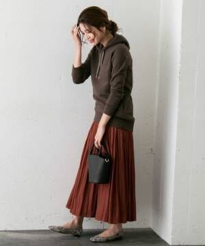 [URBAN RESEARCH ROSSO WOMEN] レース×サテンリバーシブルスカート