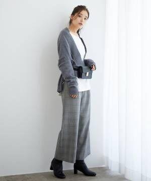 [ROPE' PICNIC] 【広瀬アリスさん着用】中空糸ワイドパンツ