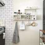 省スペースでOK!【無印良品】の「壁に付けられる家具」活用術♪