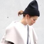 30代におすすめ☆大人女性が真似しやすい「ニット帽」を使った冬コーデ集