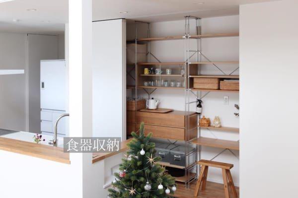 キッチン 背面 収納