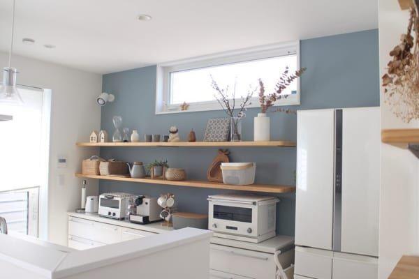 キッチン 背面 収納2