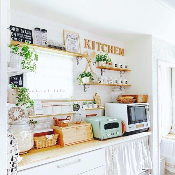 キッチン 背面 収納3