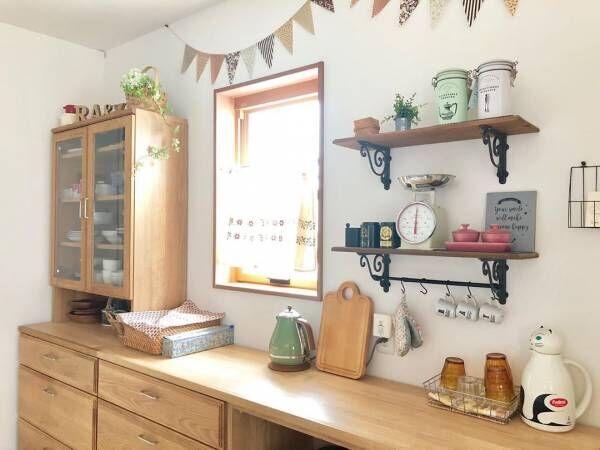 キッチン 背面 収納7