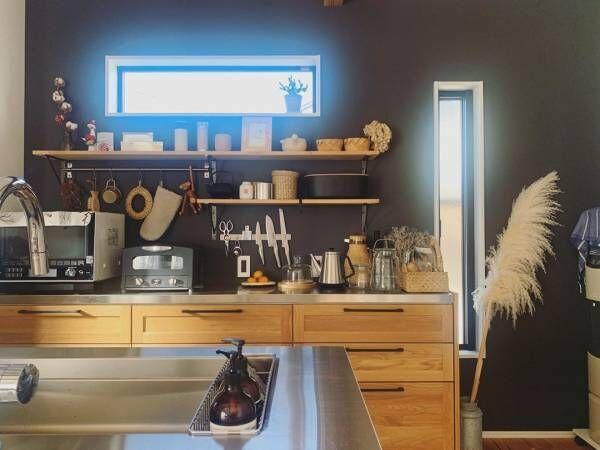 キッチン 背面 収納9