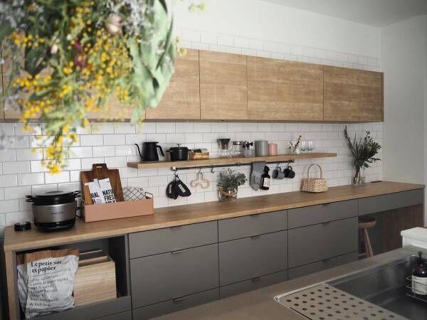 キッチン 背面 収納10