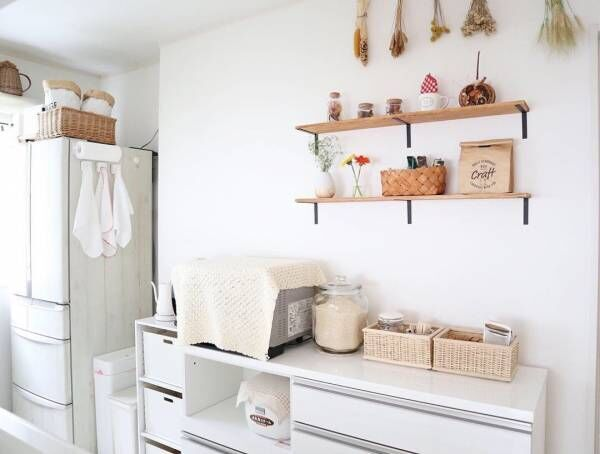 キッチン 背面 収納8