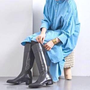 おしゃれで暖かいロングブーツ!最新冬コーデをピックアップしました♡