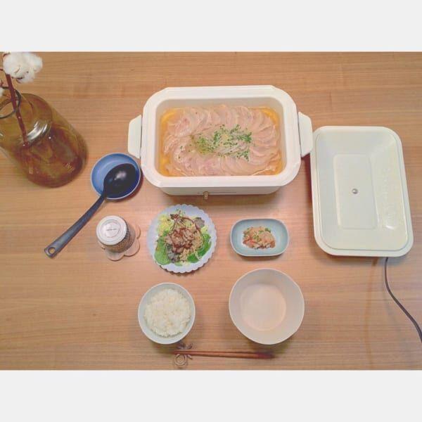 ホットプレート料理2