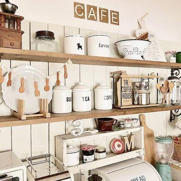 キッチンをきれいで使いやすくする!コスパに優れた収納テクニック♪