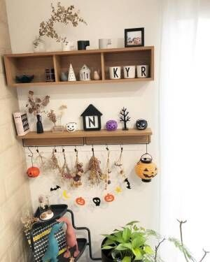 雑貨を飾れる棚