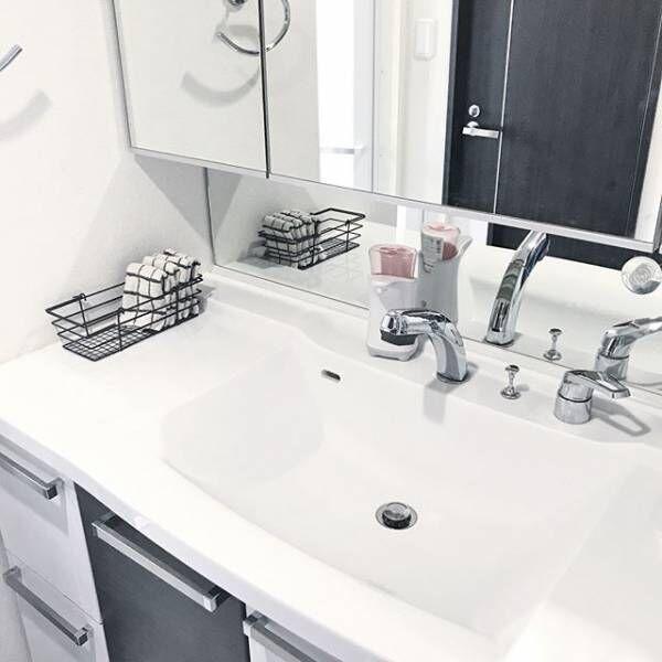 洗面所をおしゃれにしたい!おすすめのコーディネートや便利アイテム