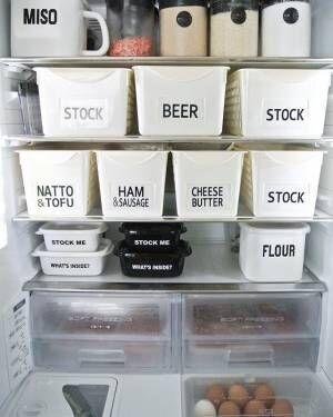 冷蔵庫 収納2