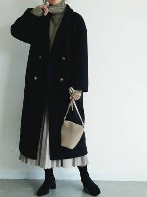 [YARD PLUS/AUNT MARIE'S] AUNT MARIE'S ニットプリーツスカート2