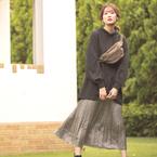 女性らしさがぐんとUP♡《ロングスカート》で大人レディな着こなしを楽しむ!