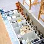 見た目も実用性も合格!収納上手さんの「カップボード収納」アイデア