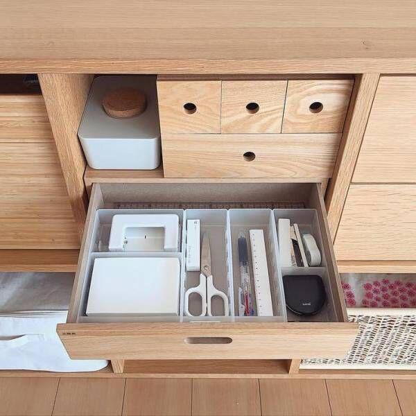 使い勝手が良くなる♪細々して整理しづらい「文房具」の収納アイデア