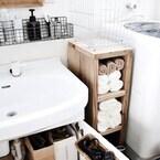 毎日使う場所だから取り出しやすくすっきりと!洗面台まわりの収納を考える