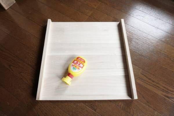 セリア 木材 DIY2
