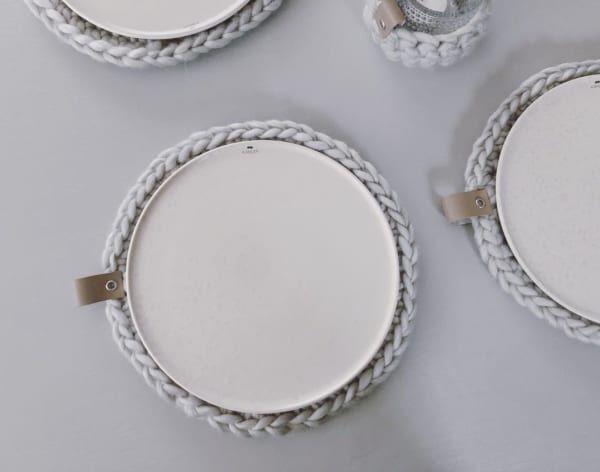 【ダイソー】おしゃれなお皿の敷きもの
