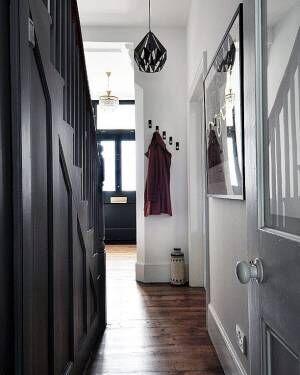 吊るす収納で玄関をおしゃれ&便利に1