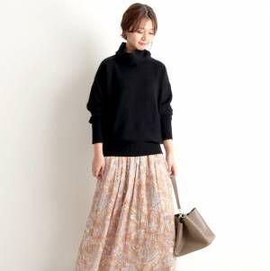スタイリングを華やかに演出♡大人女子におすすめな「スカート」スタイル