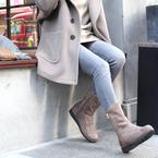 《2020年冬》大人女性に似合うブーツ!冬に着たいおしゃれコーデ15選