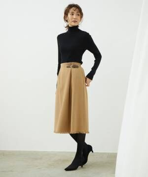 [ROPE' PICNIC] フリンジキルトスカート