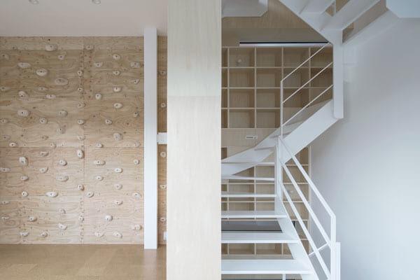 それぞれの階で天井高をチェンジ