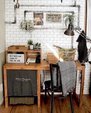 『塩ビパイプ』で簡単DIY!簡単に男前テイストにお部屋をリメイクするコツ