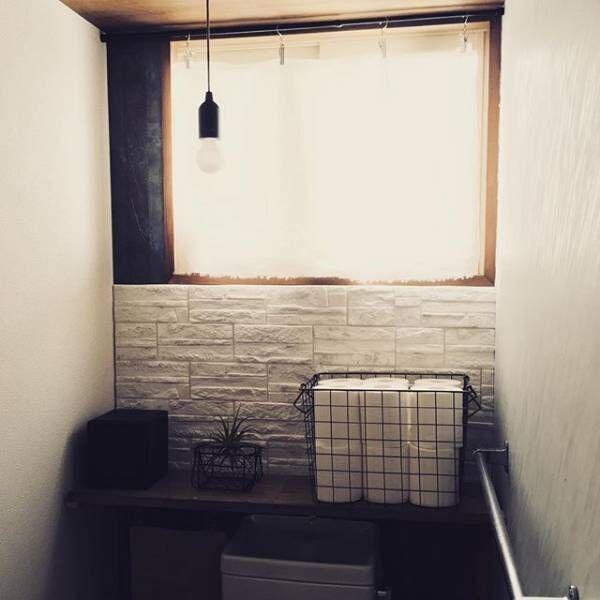 モダンでホテルライクなトイレの壁紙2