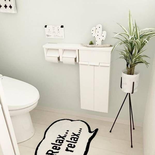 毎日使うトイレを素敵な空間に!小さなスペースでもできるトイレインテリア♪