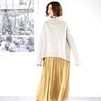 冬もカラースカートで着映え!カラー別に見る「スカートコーデ」♡