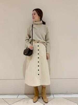 [URBAN RESEARCH] フロントボタンAラインスカート