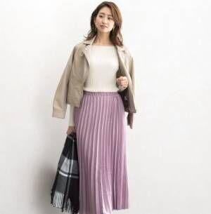 大人っぽさ◎女っぽさ◎着回し力満点の《プリーツスカート》♡