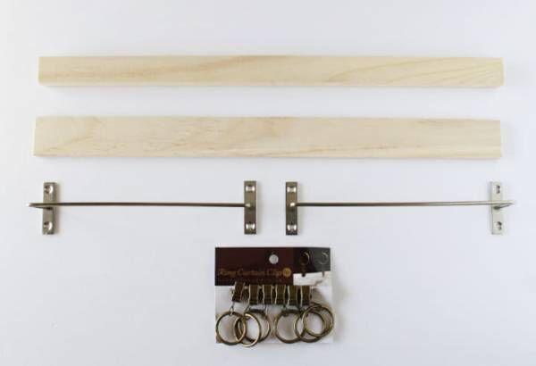 セリア 壁掛けラック DIY3