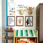 子どもの絵&作品をインテリアに♡家族みんなで楽しむ素敵なディスプレイアイディア集